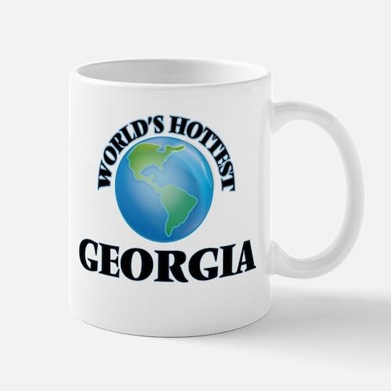 World's Hottest Georgia Mugs