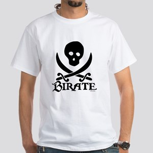 Birate White T-Shirt