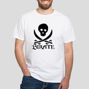 Birate White T-Shirt