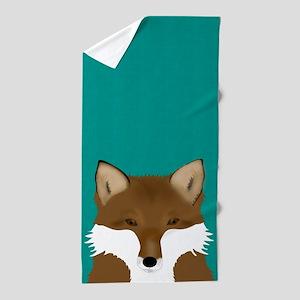 Foxy Beach Towel