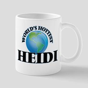 World's Hottest Heidi Mugs