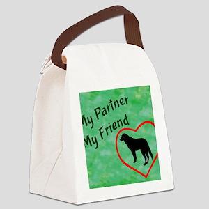 My Partner My Friend Lab Canvas Lunch Bag