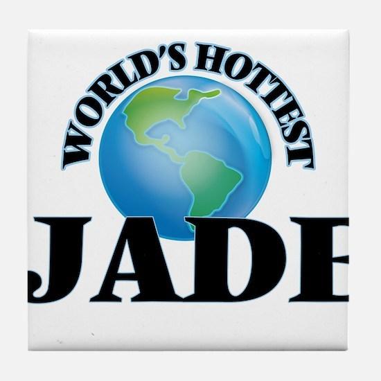 World's Hottest Jade Tile Coaster