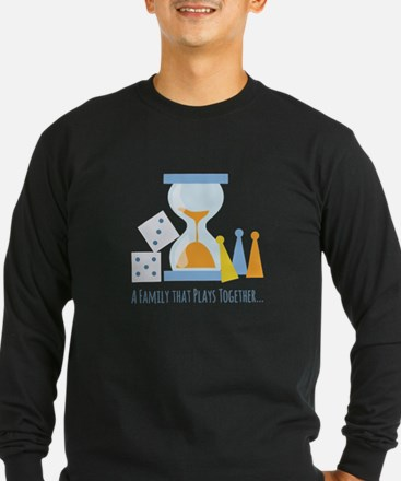 A Family That Plays Together Long Sleeve T-Shirt