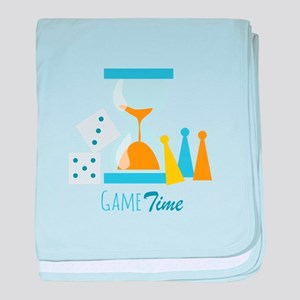 Game Time baby blanket