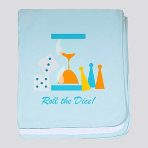 Roll The Dice! baby blanket