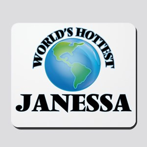 World's Hottest Janessa Mousepad