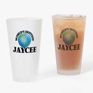 World's Hottest Jaycee Drinking Glass