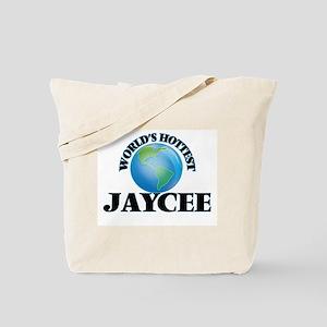 World's Hottest Jaycee Tote Bag