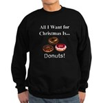 Christmas Donuts Sweatshirt (dark)