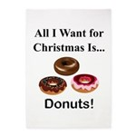 Christmas Donuts 5'x7'Area Rug