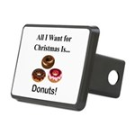 Christmas Donuts Rectangular Hitch Cover
