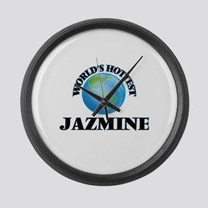 World's Hottest Jazmine Large Wall Clock