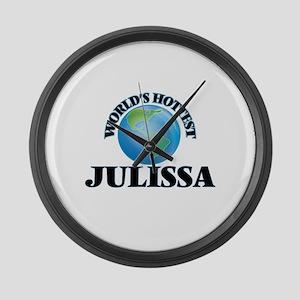 World's Hottest Julissa Large Wall Clock