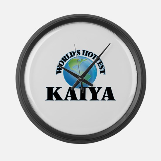 World's Hottest Kaiya Large Wall Clock