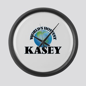 World's Hottest Kasey Large Wall Clock