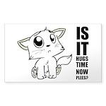 Hugs Time Sticker