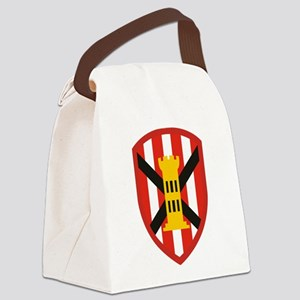 7th Engineer Bde Canvas Lunch Bag