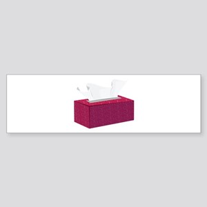 Tissue Box Bumper Sticker