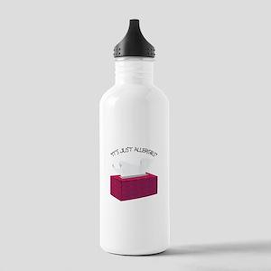 It's Just Allergies Water Bottle