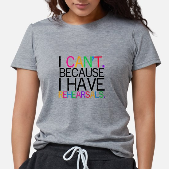 """""""I can't. Because..."""" (color) T-Shirt"""