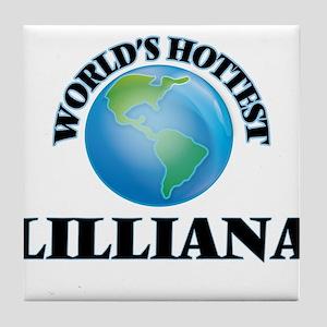 World's Hottest Lilliana Tile Coaster