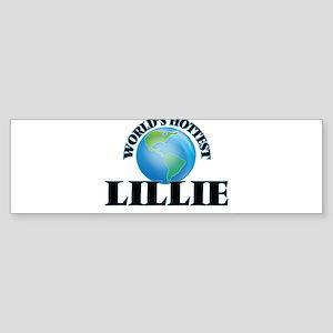 World's Hottest Lillie Bumper Sticker