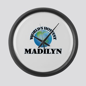 World's Hottest Madilyn Large Wall Clock
