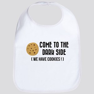Come to the dark side (We have cookies) Bib