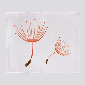 Floral Pod Throw Blanket