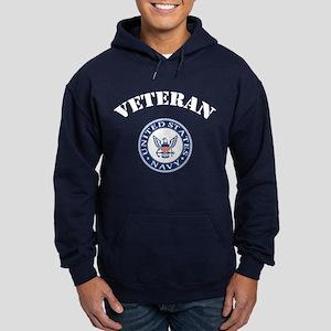 U. S. Navy Veteran Hoodie (dark)