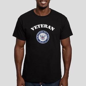 U. S. Navy Veteran Men's Fitted T-Shirt (dark)