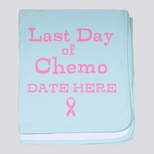 Last Day of Chemo baby blanket
