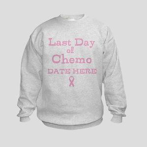 Last Day of Chemo Sweatshirt