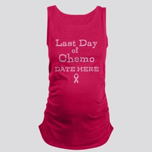 Last Day of Chemo Maternity Tank Top