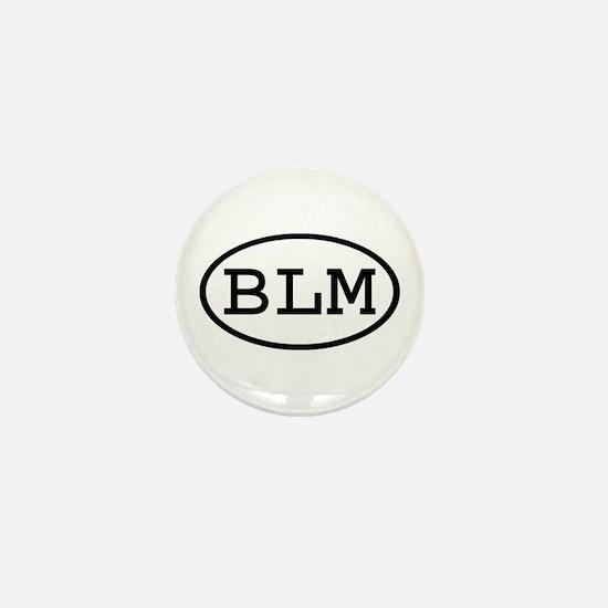 BLM Oval Mini Button
