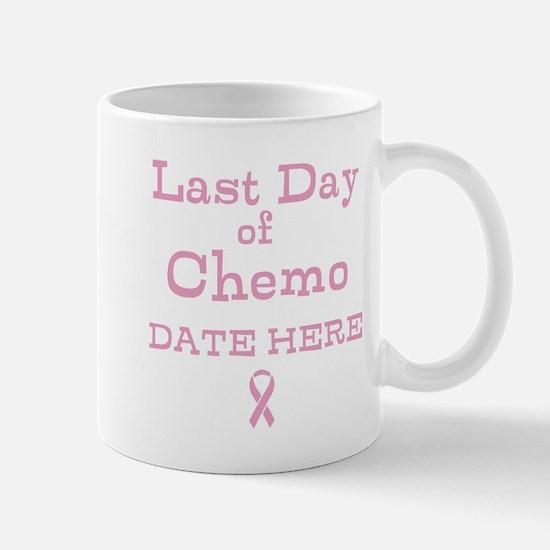 Last Day of Chemo Mugs