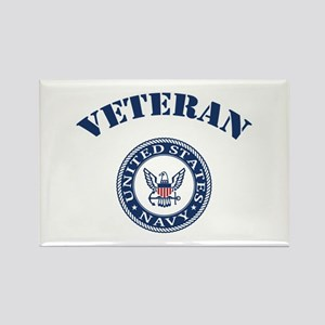 U. S. Navy Veteran Rectangle Magnet