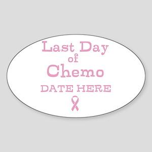 Last Day of Chemo Sticker