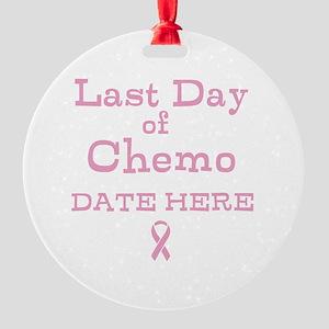 Last Day of Chemo Ornament
