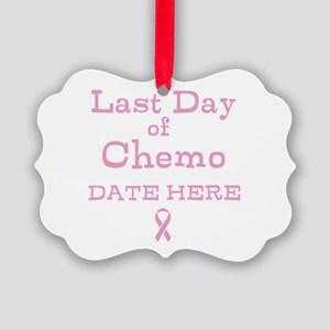 Last Day of Chemo Ornament