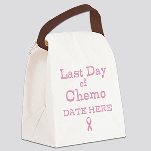 Last Day of Chemo Canvas Lunch Bag