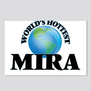 World's Hottest Mira Postcards (Package of 8)