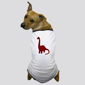 Brontosaurus Dog T-Shirt