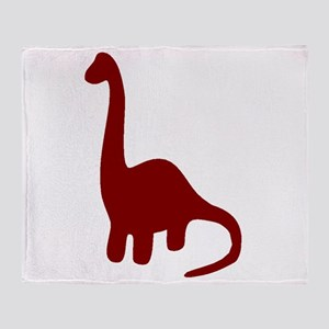 Brontosaurus Throw Blanket