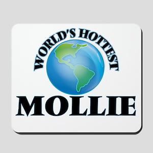 World's Hottest Mollie Mousepad