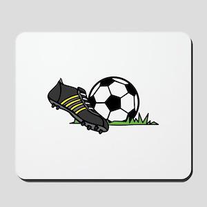 Ball & Cleats Mousepad