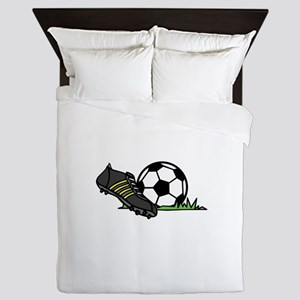Ball & Cleats Queen Duvet