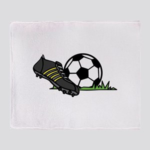 Ball & Cleats Throw Blanket