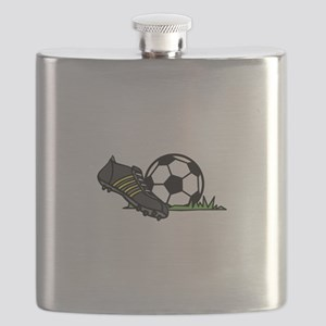 Ball & Cleats Flask
